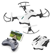 Mini Camera Drone HD Hot Quadcopter FVP WIFI Wide Angle High Hold Mode Foldable Arms RC UAV Dron 2 Colors Shipped From Spain