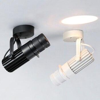 Светодиодный прожектор LukLoy с регулируемым фокусом, домашний магазин одежды, торговый центр, выставочный настенный эффект, освещение 3 Вт/5 В...