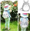 funny totoro Miyazaki Hayao plush backpacks 1-7 years kindergarten shoulder bag Satchel girl toy baby gift