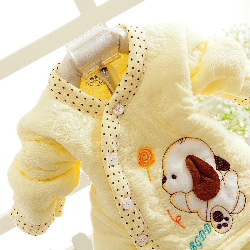 2528096402_1110716925  Retail child lady garments autumn & winter child clothes lengthy sleeve child kleding women garments winter boy garments set HTB1
