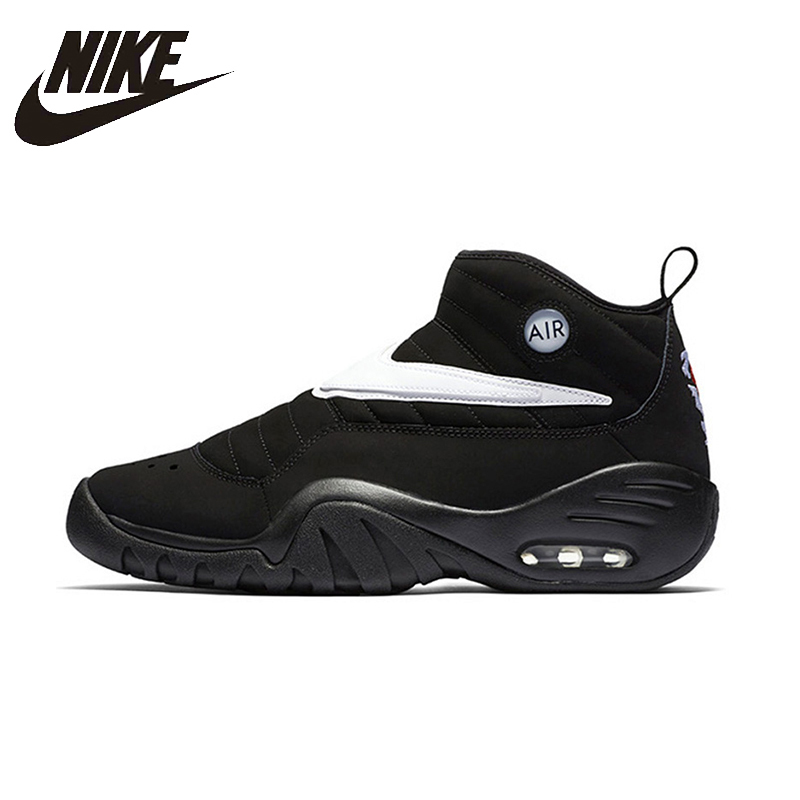NIKE Air Shake Ndestrukt Original New Arrival Mens Basketball Shoes Breathable Stability Comfortable Sneakers For Men Shoes peak sport men outdoor bas basketball shoes medium cut breathable comfortable revolve tech sneakers athletic training boots