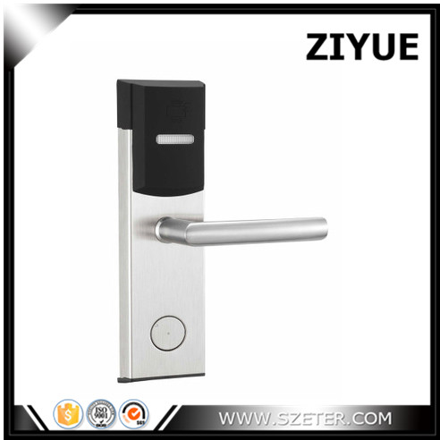 Digital Electric RFID Card Hotel Electronic Door Locks for Hotel Apartment Home Office Room ET104RF high class digital electronic rfid card hotel door handle locks with master card key options et820rf
