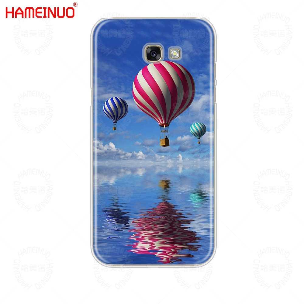 HAMEINUO トルコ国旗ウルフ熱気球携帯電話ケース三星銀河 A3 A310 A5 A510 A7 A8 a9 2016 2017 2018