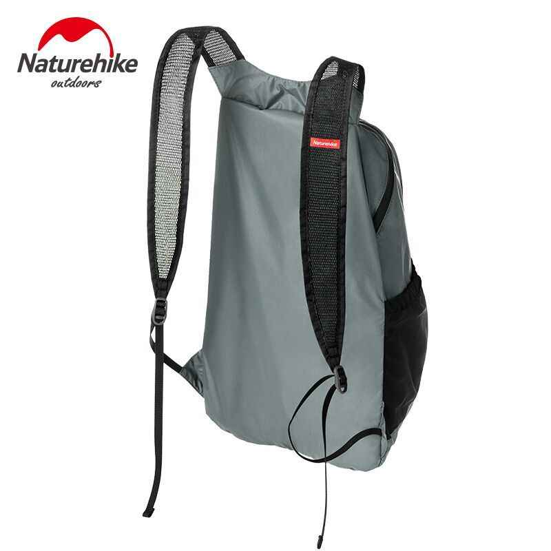 ... Naturehike 18L Foldable Lightweight Silicon Waterproof Backpack  Ultralight Sport Bag NH17A012-B 0c877fedd72f1