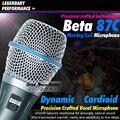 Бесплатная Доставка BETA87 Кардиоидный Динамический Вокальный Проводной Микрофон BETA 87 87C BETA87C XLR 87А Ручной Караоке с Подвижной Катушкой Микрофон Майк