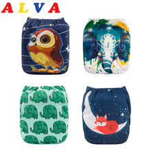 U Pick 2016 Alvababy Suede Cloth Inner Baby Reusable Pocket Cloth Diaper with 1pc Microfiber Insert (YD Series)