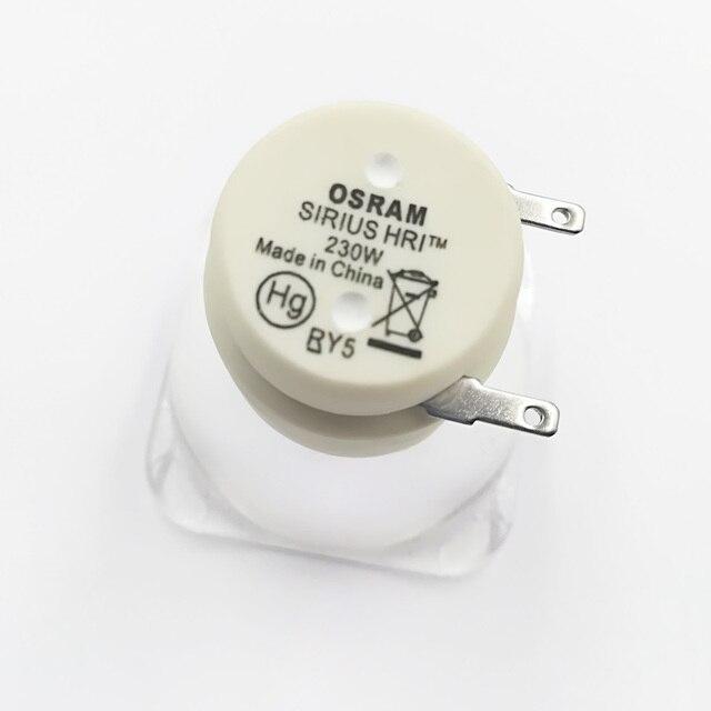 Hot Sales 7R 230W Metal Halide Lamp moving beam lamp 230 beam 230 SIRIUS HRI230W For Osram Made In China