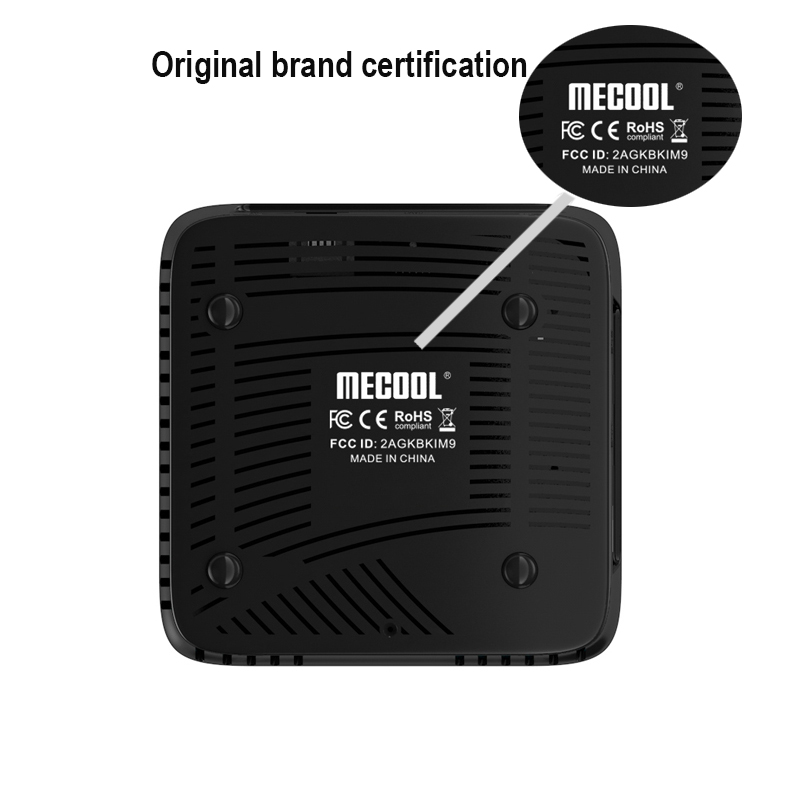 MECOOL M8S PRO W Amologic S905W Android 7 1 2gb DDR3 16gb Rom smart tv box for i8 air mouse 2 4G WiF H 265 4K UHD media player in Set top Boxes from Consumer Electronics
