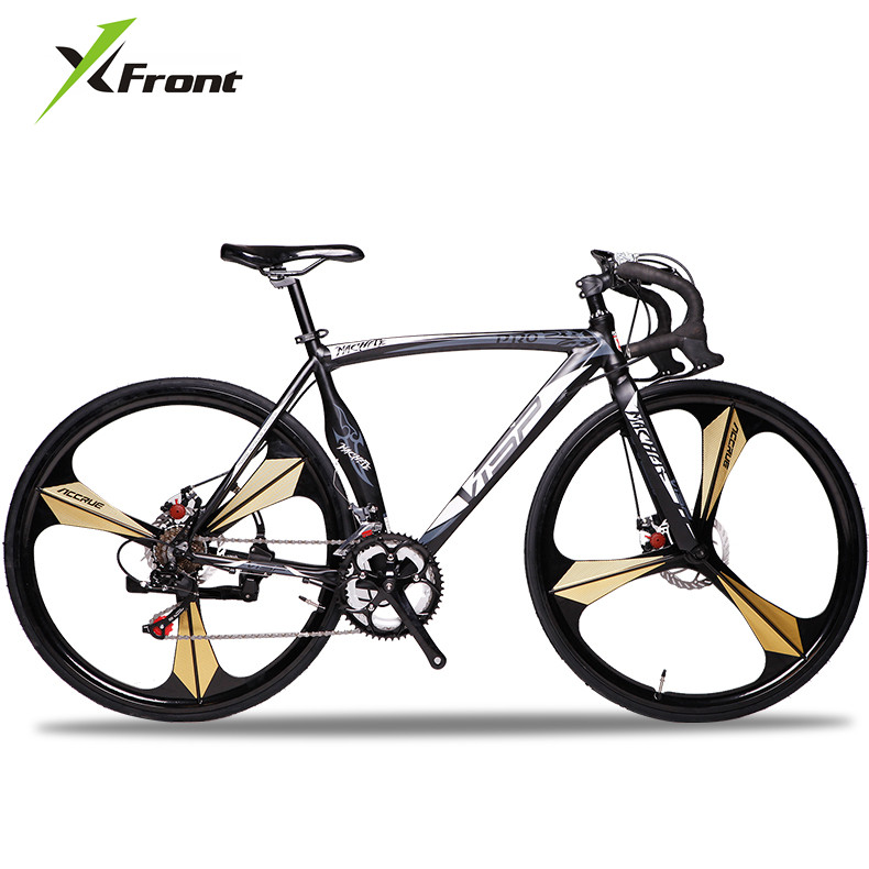 New Brand Road Bike Aluminum Alloy Frame Dual Disc Brake 14 Speed Bicycle Outdoor Sports Cycling Racing Bicicleta