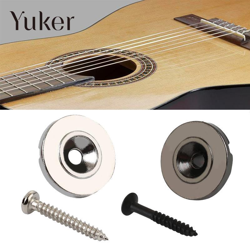 Yuker Yuker Bass Electric Guitar Accessories Parts Kits Guitars String Tree Retainer Steel