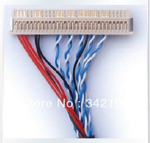 Free Shipping!  LCD Cable, LVDS Interface, 20P, 30P Double 8,6 Single Six ,eight  Etc