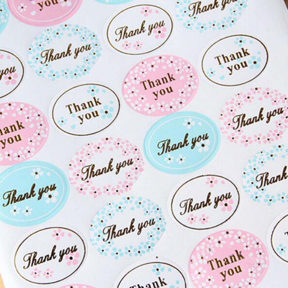 24PCS Pink Sticker Labels Diary Scrapbooking Stickers Food Seals Gift Stickers For Wedding Seals 17.5x13.5cm