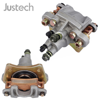 Justech Car Rear Brake Caliper With Pads For Polaris ATV Sportsman 400 450 500 600 700 800