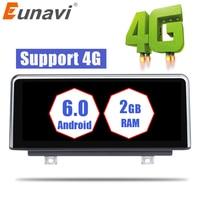 Eunavi Car Radio Stereo GPS Navigation Android 6.0 Multimedia For BMW 1 Series F20 F21 NBT(6P) 2012 2013 2014 2015 2016 4G WIFI