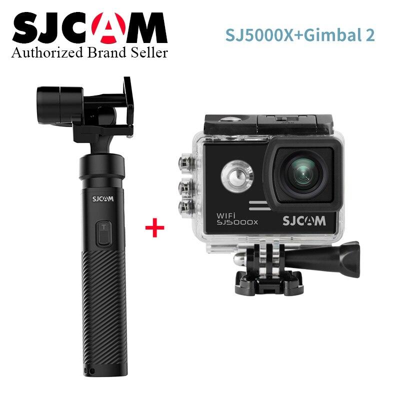 SJCAM SJ5000x Elite WiFi 4 K 24fps 2K30fps Gyro Sports DV 2.0 LCD NTK96660 plongée 30 m étanche Action caméra originale