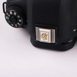 Image 4 - Chinese Zodiac DSLR Camera Flash Hot Shoe Cover for Canon Nikon Sony Fuji Olympus Panasonic Pentax Samsung Metal Hot Shoe Cover