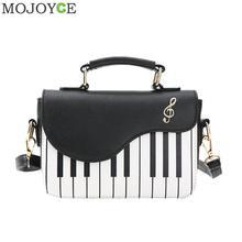 Fashion Women Shoulder Bag Ladies Piano Keys Designer Handbags Clutch Bag Female Embroidery Crossbody Messenger Bag bolsos mujer