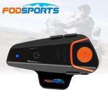 2018 BT-S2 Pro Мотоцикл Шлемы-гарнитуры домофон Водонепроницаемый Беспроводной Bluetooth мотоцикл BT переговорные fm-радио стерео музыку