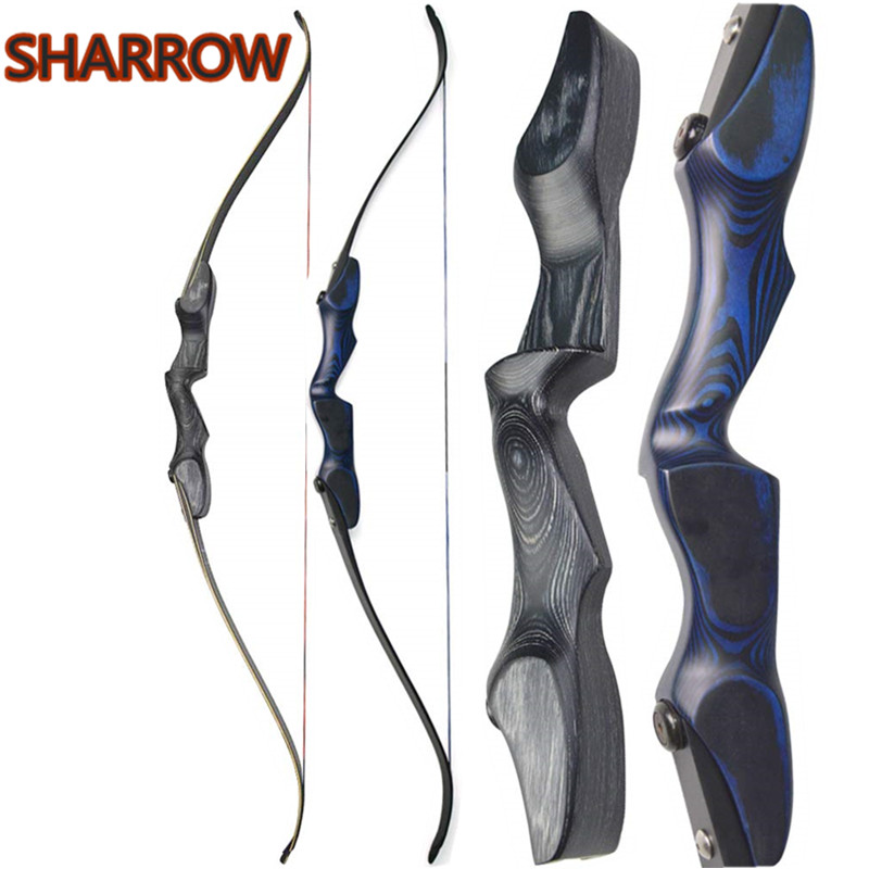 60 ILF Takedown American Hunting Bow Recurve Bow 30 60lbs Limbs Riser Left Hand Outdoor Camping