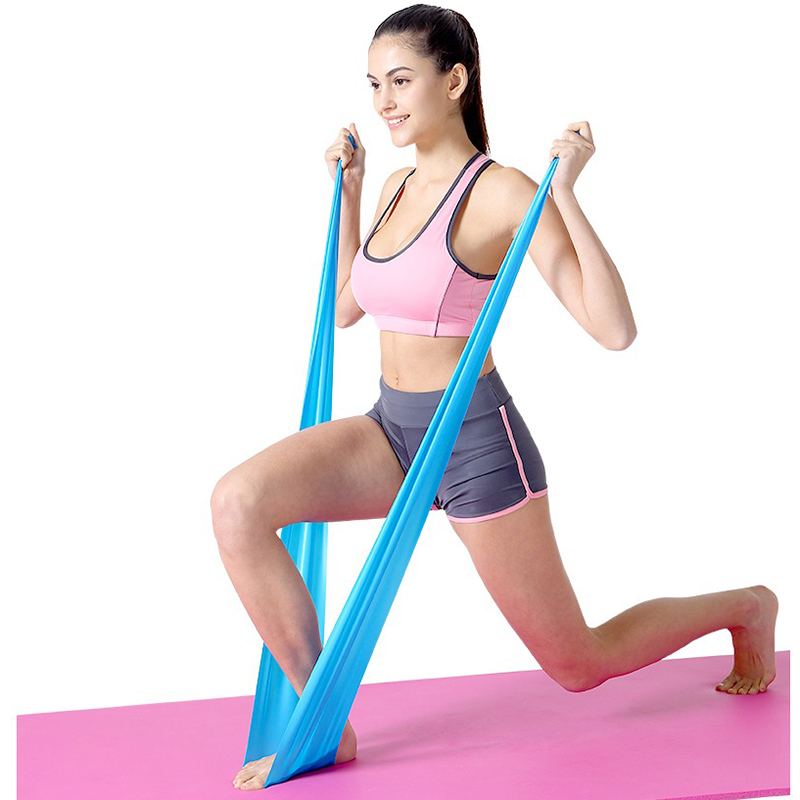 2020 Hot Resistance Bands Unisex Fitness Equipment Sport Pilates Training Latex Elastic Bands Workout Crossfit Yoga Rubber Loops