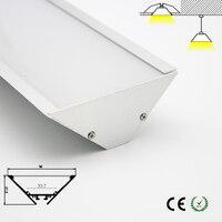 고품질 알루미늄 led 채널 led 램프 커버 천장 조명기구 실내 사용 사용자 정의 길이 ok 빠른 배송