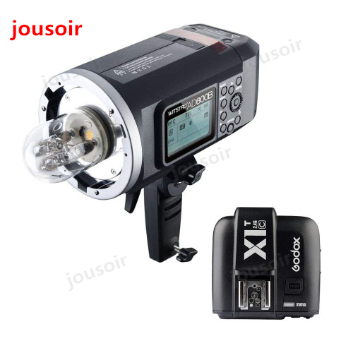 <font><b>Godox</b></font> <font><b>AD600BM</b></font> Bowens Mount 600Ws GN87 1/8000 HSS Outdoor Flash Strobe Monolight with X1C Wireless Trigger CD50Y image