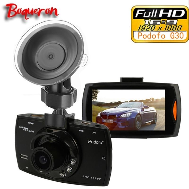 Boqueron Car Camera G30 Full HD 1080P 2.7 Car Dvr Recorder Motion Detection Night Vision G Sensor 32GB Dvrs Dash Cam Black Box