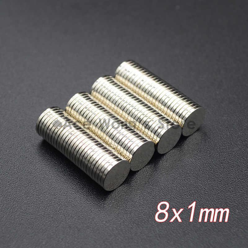 10 pçs mini pequeno n35 ímã redondo 5x1 6x3 8x3 10x1 10x2 12x2mm ímã de neodímio permanente ndfeb super forte poderoso ímãs