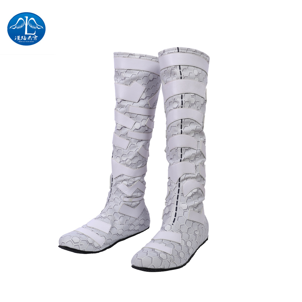 MANLUYUNXIAO Justice League Arthur Curry Aquaman Cosplay Costumes Halloween Anime Shoes  Cosplay Shoes