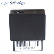 Auto Del Coche Del OBD GPS Tracker SMS GPS GSM En Tiempo Real Sistema de seguimiento de Monitor de Localizador de Alarma de la velocidad Excesiva para Vehículos Rastreador con caja