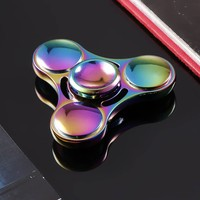 Arshiner 2017 New Kids Toy Fidget Spinner Glowing Hand Spinner 360 Fidget Desk Stress Reducer EDC