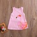 Летнее платье принцессы для маленьких девочек с 3d-лебедем, праздничные платья для свадьбы и конкурса