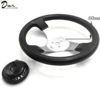 300mm 30cm Steering wheel With Cap Assy Fit For DIY China Go Kart Buggy Karting ATV UTV Bike Parts