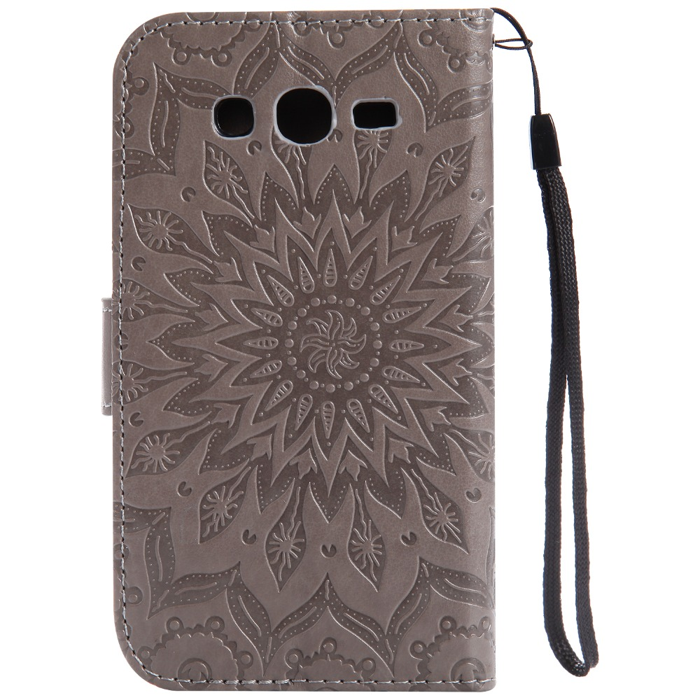 Sunflower Case для Galaxy дуэта i9082 чехол для samsung Galaxy Grand Neo i9060 9060 Гранд Neo плюс i9060i случае + держатель для карт