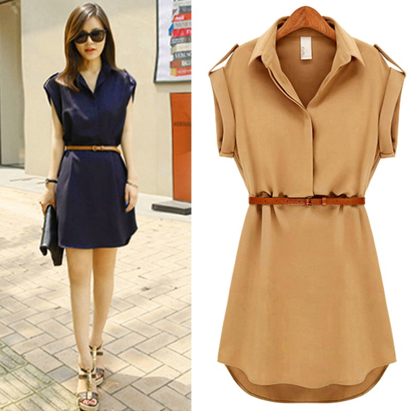 Summer Fashion Women Sexy Dress Evening Party Beach Mini Dresses Plus Size S-XXL 1