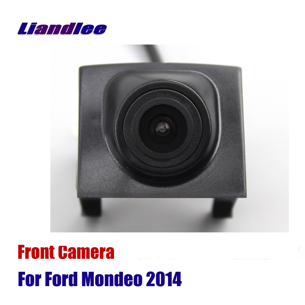 Liandlee For Ford Mondeo 2014 Car Front View Camera AUTO CAM Logo Grill Embedded Camera ( Not Reverse Rear Parking Camera ) Vehicle Camera     - title=