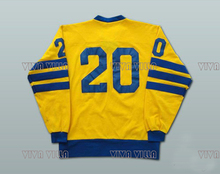 Ice Hockey Jersey 20 Anders Hedberg Team Sweden Hockey Jersey Custom Any Name Any Number Stitched Logo Hockey Jersey S-4XL(China)