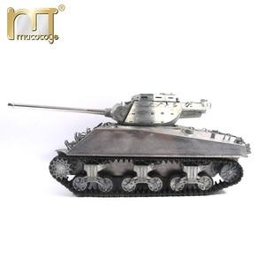 Image 2 - 마토 금속 탱크 모델 실행 준비 100% 금속 M36B1 RC 탱크 파괴자 적외선 리코일 버전
