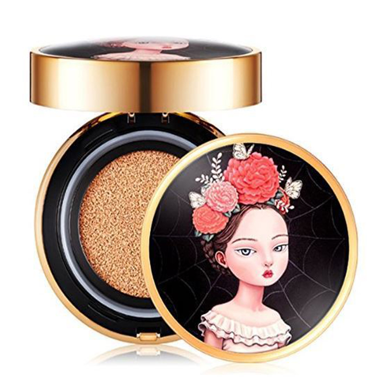 Best Korea Cosmetics BEAUTY PEOPLE Absolute Lofty Girl Cover Cushion Foundation SPF50+ 18g Cushion BB Cream Concealer Makeup cloud 9 bb spf50 15g