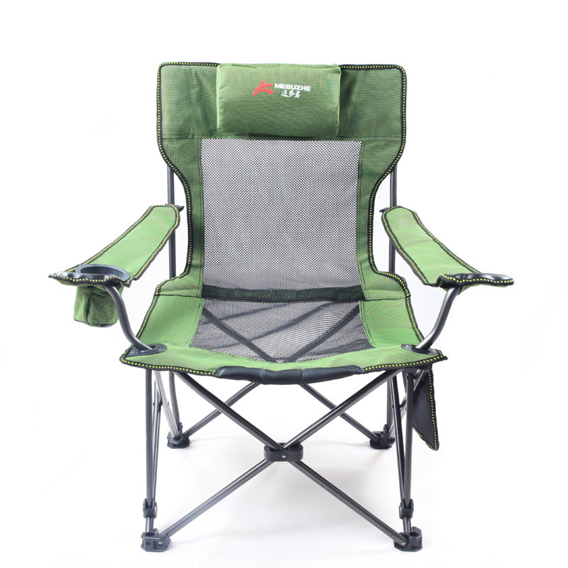 Outdoor Camping Camo Chairs Picnic Stainless Steel Folding Moon Chair  Garden, Beach Chair For Fishing, Travel And Leisure In Beach Chairs From  Furniture On ...
