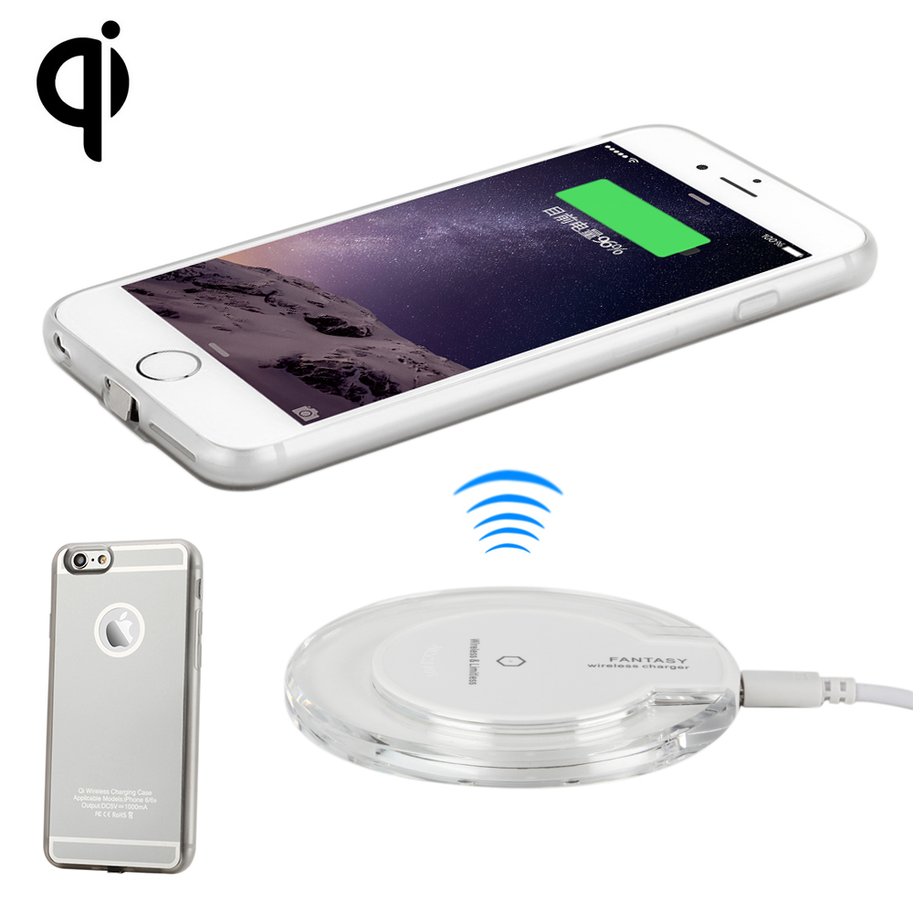 separation shoes 34735 56ced US $14.04 35% OFF|Antye Qi Wireless Charger kit for iPhone 6 6S/6 Plus 6S  Plus,Including Qi Wireless Charger Pad and Receiver Case-in Mobile Phone ...