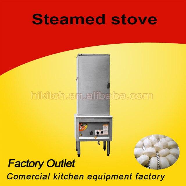 Canteen Restaurant Equipment Industrial Kitchen Steamer Steam Rice
