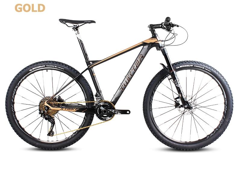 Pulsuz alış-veriş 26 / 27.5inc karbon lif dağ velosiped 27speed - Velosiped sürün - Fotoqrafiya 4