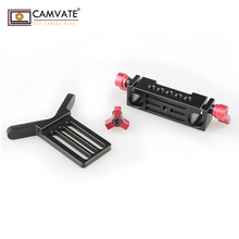 CAMVATE Lens Support Mount Rod Clamp Holder Bracket for 15mm Rod System Follow Focus C1107 camera photography accessories