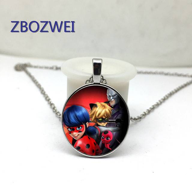 <b>2018</b>/ <b>hot new</b> miracle ladybird necklace Adrian Marinette toy ...