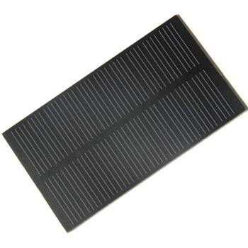 BUHESHUI Wholesale 1W 5V Solar Cell Solar Module Monocrystalline PET Solar Panel DIY Solar Charger 107*61MM 50pcs Free Shipping