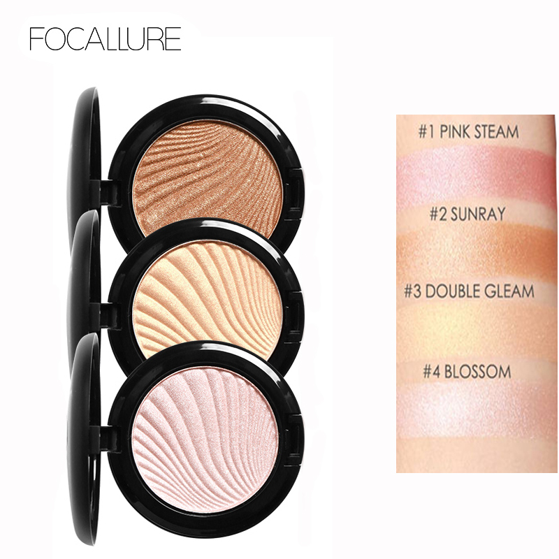 Focallure Face Highlighter Pudră Palette Machiaj Shimmer - Machiaj