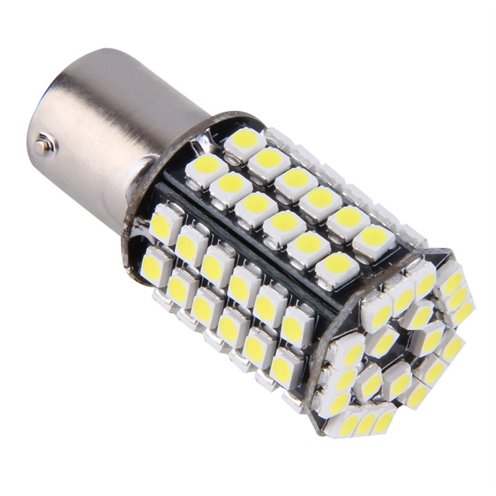 1156 BA15S P21W Xenon LED Light 80SMD Auto Car Xenon Lamp Tail Reverse Bulb Light free shipping купить
