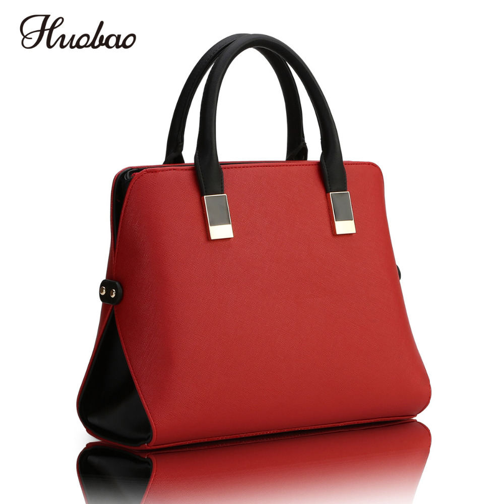 New 2018 Women Leather Handbags Fashion Ladies Shoulder Bag Luxury Designer Women Messenger Bags High Quality Top-Handle Bags anime attack on titan mini messenger bag boys ataque on titan school bags mikasa ackerman eren shoulder bags kids crossbody bag