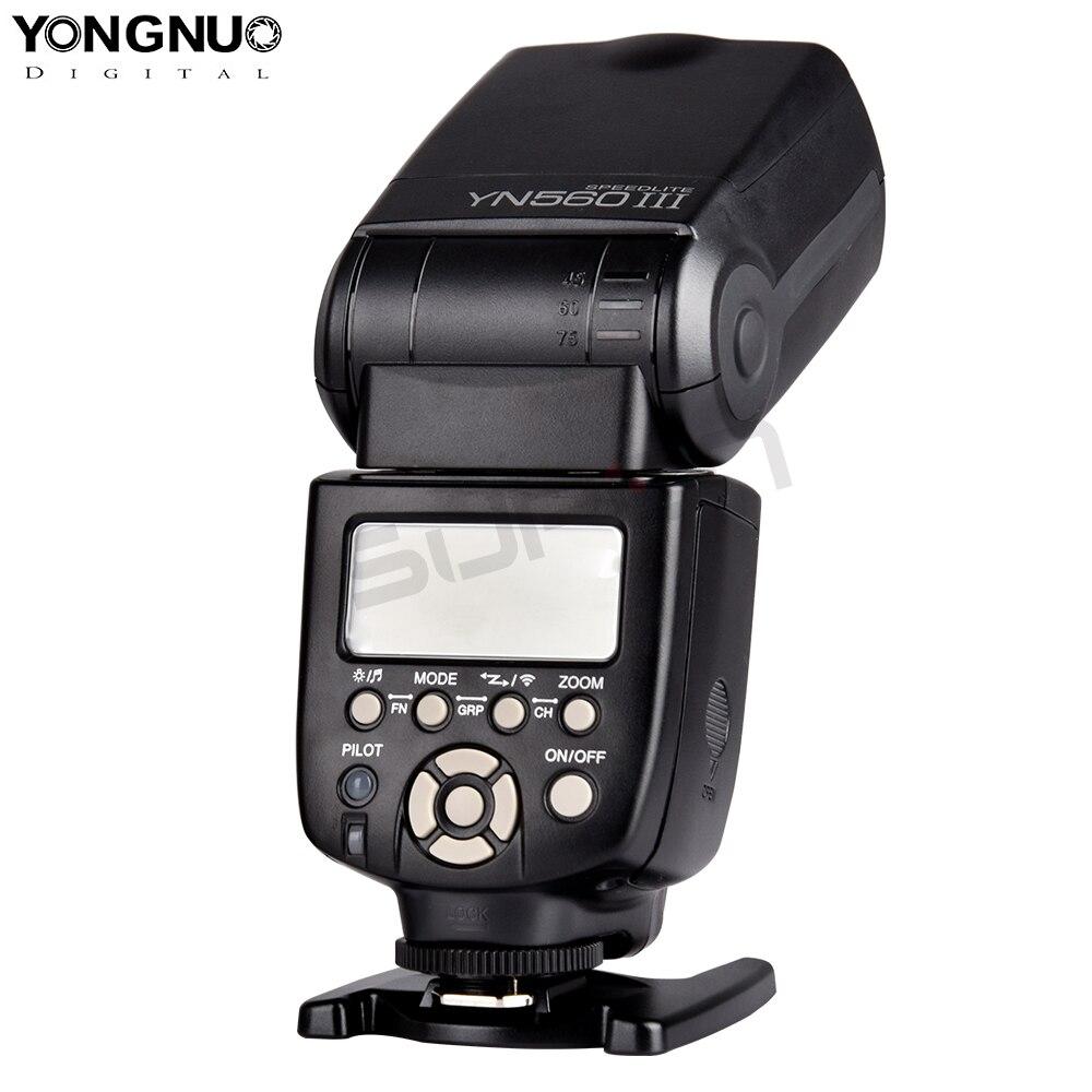 YONGNUO YN560III YN560-III YN560 III Flash sans fil Speedlite pour appareil photo Canon Nikon Olympus Panasonic Pentax - 4